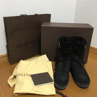 ルイヴィトン(LOUIS VUITTON)の☆LOUIS VUITTON☆ムートンブーツ☆(ブーツ)