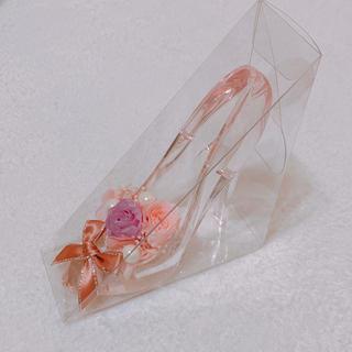 はっちゃん様専用☆ガラスの靴 リングピロー(リングピロー)