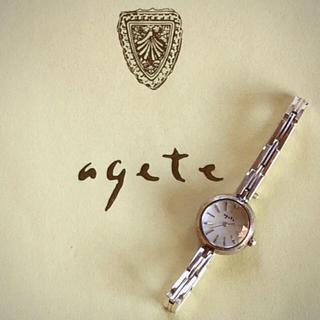 アガット(agete)の♡Peace 様 😊  専用    agete  ㉕  腕時計 (腕時計)