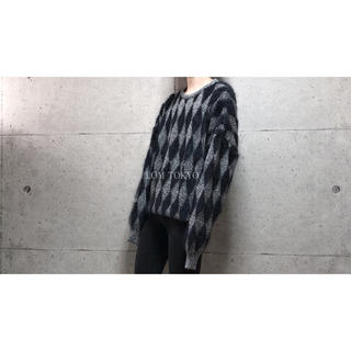 [used]'gianni versace' mohair knit.(ニット/セーター)