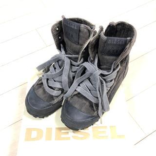 ディーゼル(DIESEL)のdieselディーゼル キッズ 19cm ハイカットスニーカー(スニーカー)