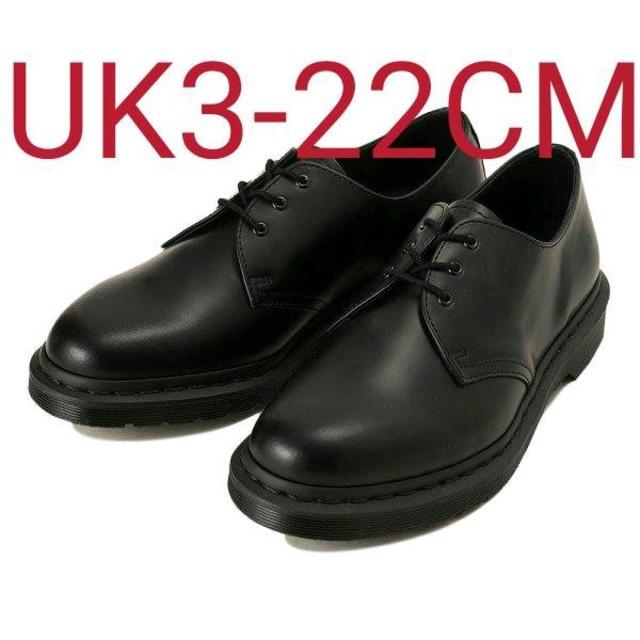 Dr.Martens(ドクターマーチン)の他サイズ有【定価25290円】 Dr.Martens 1461 MONO3ホール レディースの靴/シューズ(ブーツ)の商品写真