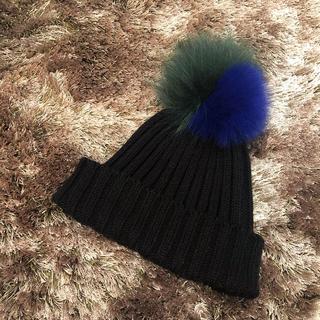 ルシェルブルー(LE CIEL BLEU)の最終値下げ!人気完売ニット帽⭐︎(ニット帽/ビーニー)