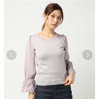 リランドチュール(Rirandture)のリランドチュール ❤︎ 袖口スカラ刺繍ニット (ニット/セーター)