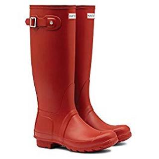 ハンター(HUNTER)のHUNTER 赤 レインブーツ(レインブーツ/長靴)