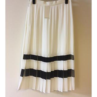 ルシェルブルー(LE CIEL BLEU)の[2日間お値下げ]新品 ルシェルブルー2wayスカート(ひざ丈スカート)
