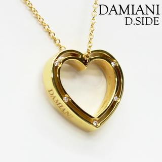 ダミアーニ(Damiani)のダミアーニ D-SIDE ハートネックレス イエローゴールド(ネックレス)