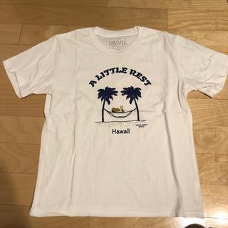 スヌーピー(SNOOPY)の日焼けスヌーピーTシャツ(Tシャツ(半袖/袖なし))