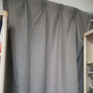 ムジルシリョウヒン(MUJI (無印良品))の無印良品 遮光カーテン 1枚 100×105(カーテン)