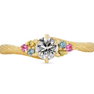 k.uno ブライダルリング ラプンツェル ダイヤモンド(リング(指輪))