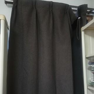 ムジルシリョウヒン(MUJI (無印良品))の無印良品 遮光カーテン ブラウン1枚(カーテン)