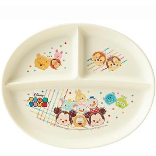 ディズニー(Disney)の新品未開封 日本製 ツムツムランチプレート(プレート/茶碗)