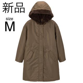 ジーユー(GU)のgu コート アウター 中綿コート モッズコート ジャケット ユニクロ plst(ミリタリージャケット)