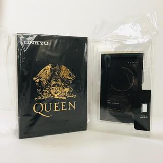 オンキヨー(ONKYO)の新品 ONKYO 限定コラボ Queen DP-X1 ケース付き(ポータブルプレーヤー)