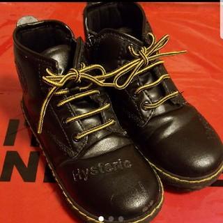 ヒステリックミニ(HYSTERIC MINI)の本日価格 ヒステリックミニ ブーツ(ブーツ)