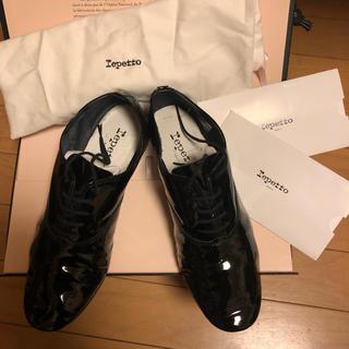 レペット(repetto)のレペット ジジ パテント 39.5(ローファー/革靴)