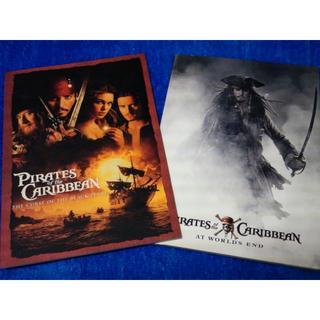 ディズニー(Disney)のパイレーツオブカリビアン・パンフレット2冊(洋画)