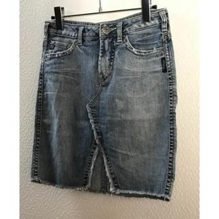 シルバージーンズ(Silver JEANS)のシルバージーンズ デニムスカート(ひざ丈スカート)