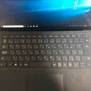 マイクロソフト(Microsoft)のSurface laptop コバルトブルー(ノートPC)