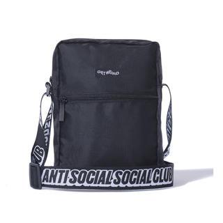 アンチ(ANTI)のAnti Social Social Club ブラックサイドバック(ショルダーバッグ)
