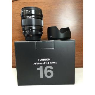 フジフイルム(富士フイルム)のFUJLFILM FUJINONレンズ xf16mm f1.4 r wr(レンズ(単焦点))