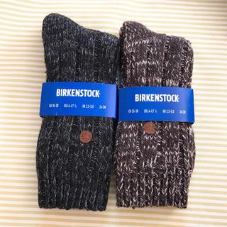 ビルケンシュトック(BIRKENSTOCK)のビルケンシュトック BIRKENSTOCK 靴下 シドニー 2足セット(ソックス)