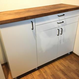 イケア(IKEA)のIKEAキッチン収納 作業台(キッチン収納)
