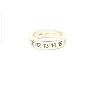 エムエムシックス(MM6)の最終値下げ☆指輪 MM6  カレンダー ナンバーリング ナンバリング(リング(指輪))