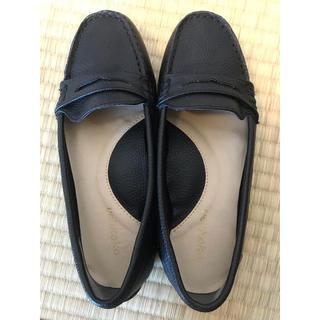 ヴェリココ(velikoko)のVelikoko ドライビングシューズ 美品 21.5(ローファー/革靴)