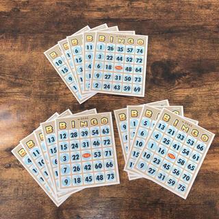 ビンゴカード 14枚(その他)