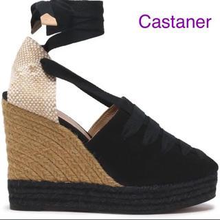 カスタニエール(Castaner)のカスタニエール ウェッジ エスパドリーユ JP24(サンダル)