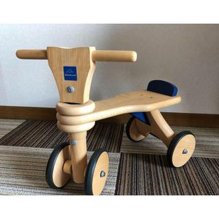 ボーネルンド(BorneLund)のボーネルンド 木製三輪車(三輪車)