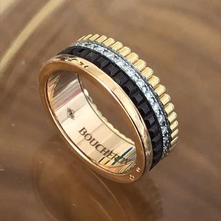 ブシュロン(BOUCHERON)のブシュロン  キャトル  クラシック ダイヤモンド リング PG 49 極美品(リング(指輪))