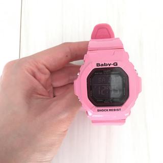 ベビージー(Baby-G)のCASIO Baby-G カシオベビーGBG-5600LRピンク デジタル腕時計(腕時計(デジタル))