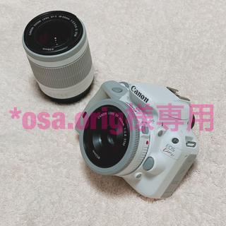 キヤノン(Canon)のCanon デジタル一眼レフカメラ EOS kiss X7 ホワイト(デジタル一眼)