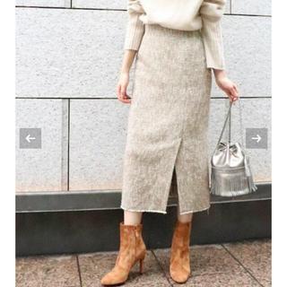 プラージュ(Plage)のつむさん用【plage】tweedタイトスカート(ひざ丈スカート)