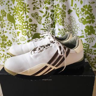 アディダス(adidas)の【お値下げ】adidas ゴルフシューズ レディース 24.5センチ(シューズ)