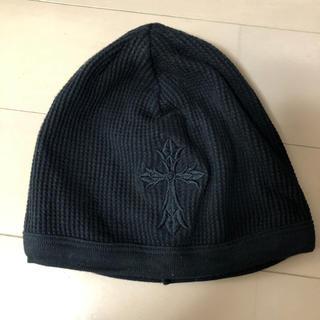 クロムハーツ(Chrome Hearts)のクロムハーツ 超美品 フリーサイズ  帽子 ブラック(キャップ)