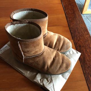 ムジルシリョウヒン(MUJI (無印良品))の無印良品 ムートンブーツ (ブーツ)