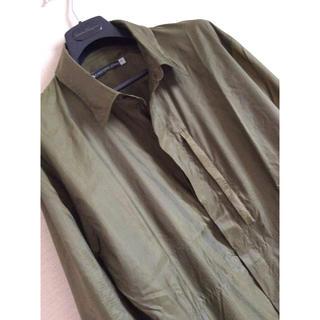 クリストフルメール(CHRISTOPHE LEMAIRE)の《美品》クリストフ ルメイル ナイロン メンズ シャツ(シャツ)
