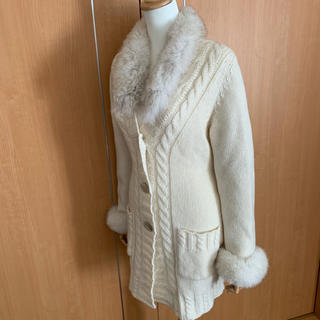 アルティザン(ARTISAN)の着用回数僅か❗️美品❗️このアルチザンのファーニット(ニット/セーター)