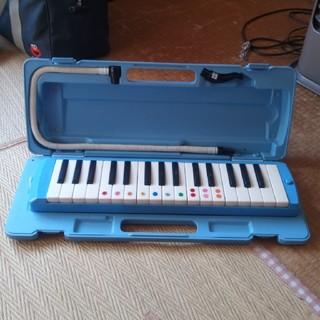 ヤマハ(ヤマハ)のヤマハ☆鍵盤ハーモニカ(ブルー)(中古)(ハーモニカ/ブルースハープ)