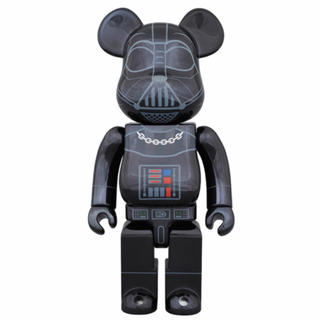MEDICOM TOY - 【新品】BE@RBRICK DARTH VADER CHROME 400%