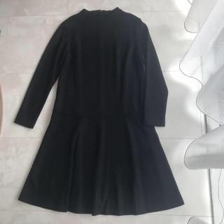 b07cea93f01bf ノーリーズ(NOLLEY S)の SEAL美品  FREDY emue ♡ 裾フリル フレア. ひざ丈ワンピース