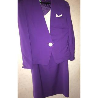 バブリースーツ 紫 パープル(スーツ)