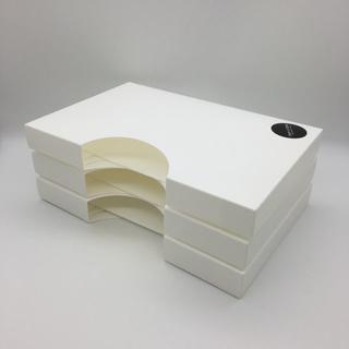 美品 mon・o・tone キッチン 消耗品 ケース 白 ホワイト 収納(キッチン収納)