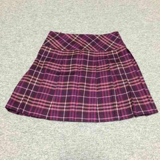 バーバリー(BURBERRY)の 値下げバーバリーブルーレーベルスカート(ひざ丈スカート)