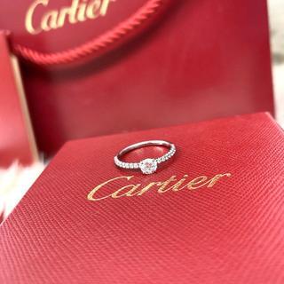 カルティエ(Cartier)の専用☆☆未使用 カルティエ 婚約指輪 0.32ct (リング(指輪))