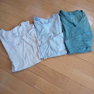 MUJI (無印良品) - 無印良品ぬくもりあったかシャツ3枚セット