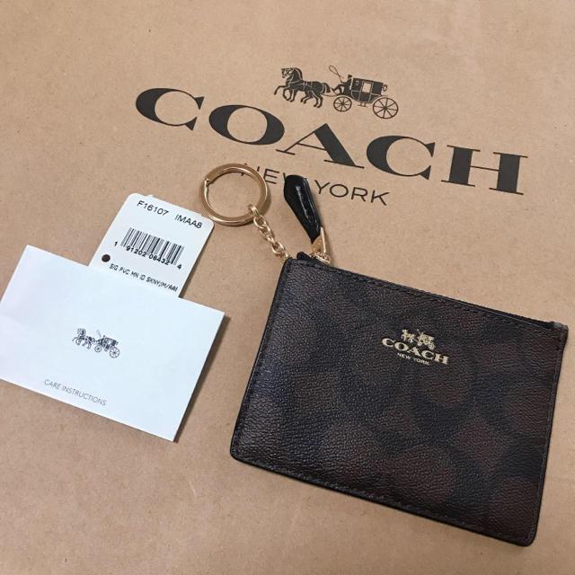 d8f1cd895bf6 COACH(コーチ)の新品 COACH コーチ コインケース カードケース パスケース レディースの
